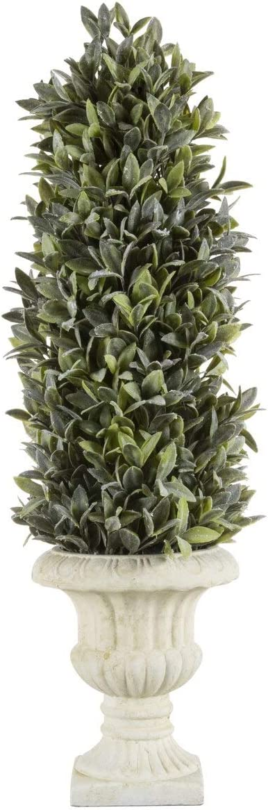 Regency International Flocked Artificial Cone 40% OFF Cheap Sale Topi New item Sage Tabletop