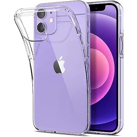 Spigen 全透明 iPhone12 mini 用 ケース 5.4インチ クリアケース MagSafe 対応 ケース TPUカバー 全面クリア 超薄型 超軽量 アイホン12ミニカバー リキッド・クリスタル ACS01740 (クリスタル ・クリア)