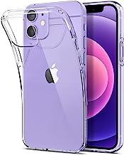 Spigen Liquid Crystal Coque Compatible avec iPhone 12 Mini - Crystal Clear