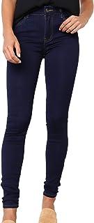 Eliacher Womens Jeans Juniors Basic 5 Pocket Slim Fit Stretchy Super Skinny Jeans