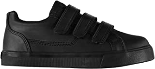 Tovni Trainers Boys Black Shoes Footwear