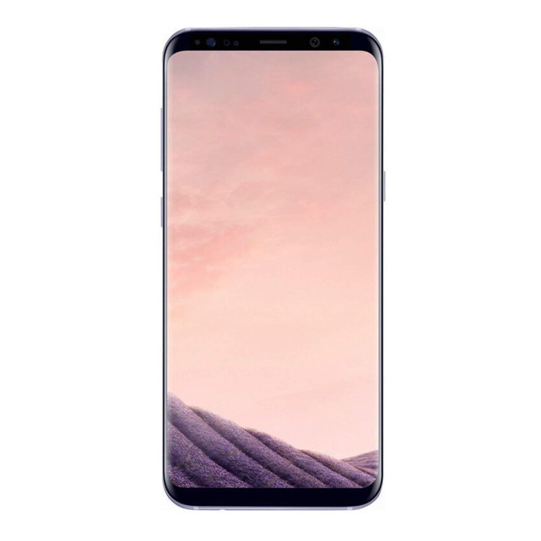 Samsung Galaxy S8+, 64GB, Orchid Gray - Fully Unlocked (Renewed)