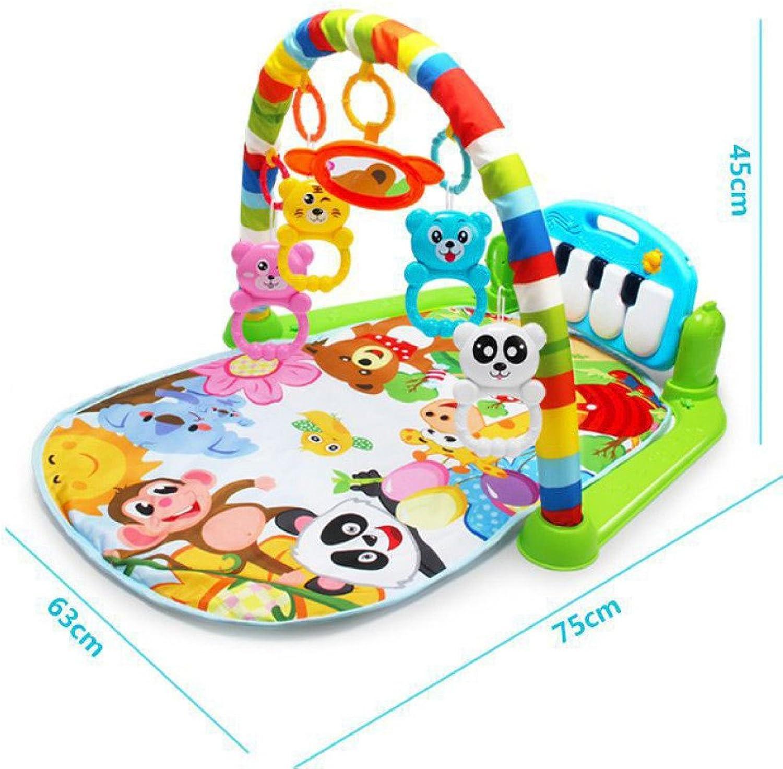 venta caliente en línea YIYI YIYI YIYI Infantil 0-18 Meses bebé música Fitness Rack recién Nacido música Pedal Piano Niños Juguetes educativos,Color de la fot,Un tamaño  barato en línea