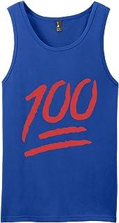 Keep it 100 Percent Emoji Logo Tank Top Shirts