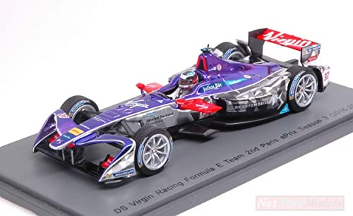 mejor vendido Spark Model S5909 DS Virgin Racing J.M.Lopez J.M.Lopez J.M.Lopez 2017 N.37 Rd6 Paris Formula E 1 43 Compatible con  forma única