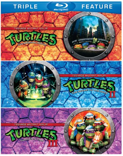 TEENAGE MUTANT NINJA TURTLES / TEENAGE MUTANT 2 - TEENAGE MUTANT NINJA TURTLES / TEENAGE MUTANT 2 (3 Blu-ray)