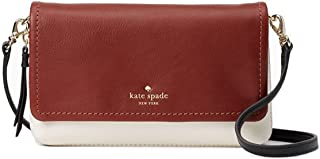 Kate Spade Cobble Hill Taryn Bag , Port Brown / Cement / Black