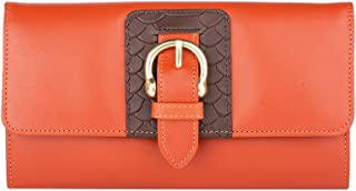 Hidesign Women's Wallet (Orange)