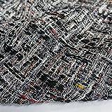 Tela decorativa por metros, para primavera y otoño, color de lana, diseño 0,5 m