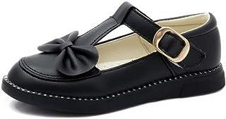 Zapatos Mary Jane para niñas cómodos Ligeros Bajos Planos de Princesa Zapatos para niños Suela Suave Antideslizante Lindos...