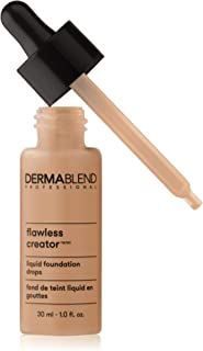Dermablend Professional Flawless Creator Lightweight Foundation - Multi-Use Liquid Pigments - Oil-Free, Water-Free, Non-Co...