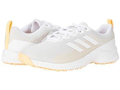 adidas Golf Response Bounce 2 SL (Grey One/White/Acid Orange) Women