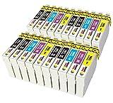 TONER EXPERTE 29 29XL 20 Cartouches d'encre compatibles avec Epson Expression Home XP-235 XP-335 XP-435 XP-245 XP-247 XP-342...