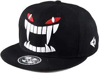 Sunlitro Unisex Flat Bill Hip Hop Hat Snapback Baseball Cap