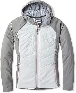 Women's Full Zip Hoodie - Smartloft-X 60 Merino Wool Hooded Sweatshirt