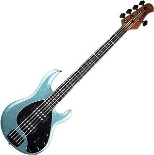 Ernie Ball Music Man Stingray Special 5 HH - Aqua Sparkle with Ebony Fingerboard