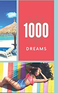1000 Dreams: Holiday Composition, It's Time To Turn Your Dreams Into Goals And Then Make Them Come True, 100 Pages/1000 Go...