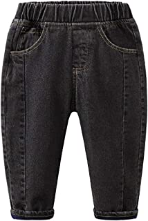 Sponsored Ad - Mud Kingdom Thermal Little Boys Jogger Jeans Fleece Lined Warm Winter