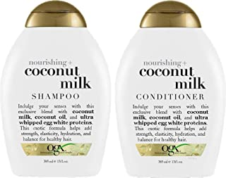 OGX Shampoo & Conditioner for All Hairs - 385 ml