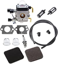 Hipa C1q-S97 Carburetor with Fuel Repower Kit Air Filter for STIHL FS75 FS80 FS80R FS85 FS85R FS85T FS85RX String Trimmer Weedeater
