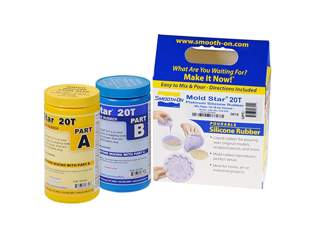 Mold Star 20T Silicone Mold Making Rubber - Trial Unit