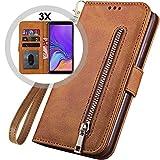 Galaxy A7 2018 Wallet Case Women/Men,Auker 3 Card Holder...
