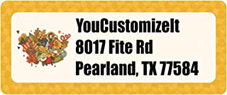 Happy Thanksgiving Return Address Labels (Personalized)