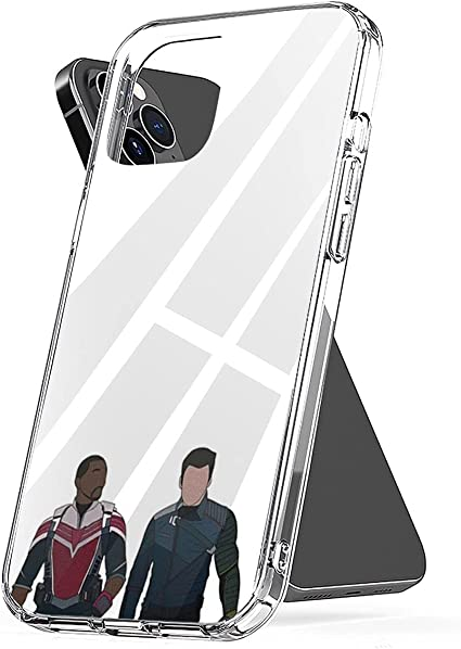 Phone Case Compatible with iPhone The Accessories Falcon and Scratch The Waterproof Winter Soldier 6 7 8 Plus Se 2020 X Xr 11 Pro Max 12 Mini