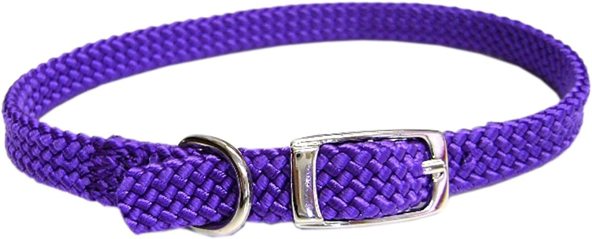 Hamilton 802 PU Safety Cat Collar with Bell 3//8-Inch Wide x 14-Inch Long Purple