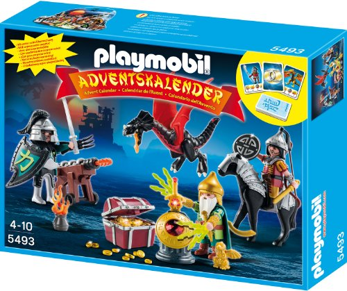 Playmobil 5493 - Adventskalender Kampf um den Drachenschatz