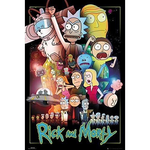 Poster (49r) Rick and Morty Wars (61x91,5)