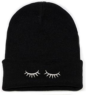 City Hunter Sk901 Eyelashes Basic Ski Winter Beanie Hats 14 Colors