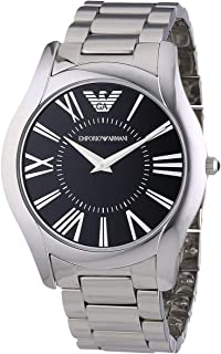 Emporio Armani Men'S Dial Stainless Steel Band Watch Ar2022, Quartz, Analog