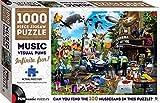 Music Visual Puns: 1000 Piece Jigsaw Puzzle (Puntastic Puzzles)