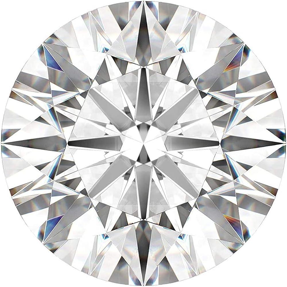 Certified 0.44 Carat K color Round Superlatite supreme cut Labgrown CVD Excellent Di