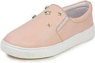 WORLD WEAR FOOTWEAR Women's Pink (767) Casual Loafers Shoes