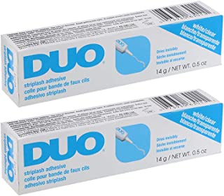 DUO Strip Lash Adhesive, Clear, 0.5oz x 2 pack