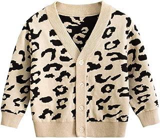 Best leopard cardigan toddler Reviews