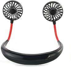 XingYue Direct Hand Gratis Mini Fan Draagbare USB Oplaadbare Persoonlijke Neckband Fan met 3 Snelheid voor Indoor Outdoor