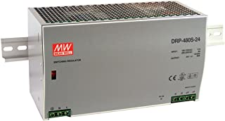 Mean Well Original DRP-480S-48 Single Output Industrial DIN Rail with PFC Function Power Supply 48V 10A 480W