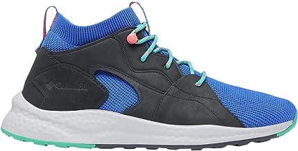 Columbia SH/FT Outdry Mid Hiking Shoe - Men's Lapis Blue/Emerald Green, 7.0