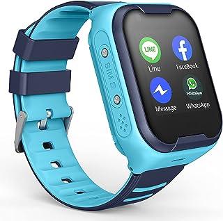 TTSLVS Reloj Inteligente para niños para niños y niñas, Reloj Inteligente para niños con Llamada telefónica, Reproductor d...