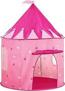 TITIFIVE Castle Play Tent con estrellas que brillan en la os