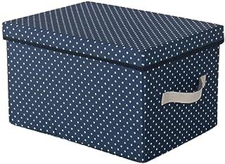 Lpiotyucwh Paniers et Boîtes De Rangement, Bacs de rangement, Organisateur de conteneur empilable pliable Ensemble de cont...