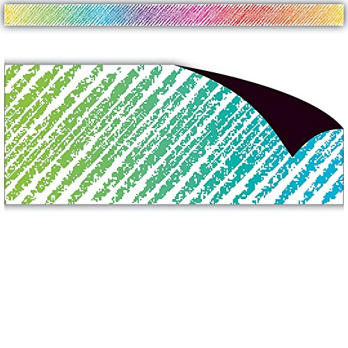 Teacher Created Resources Colorful Scribble Magnetic Border, 77290 Photo #3