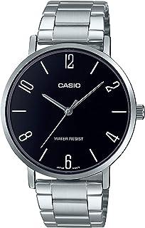 Casio Enticer Analog Black Dial Men's Watch - MTP-VT01D-1B2UDF (A1815)