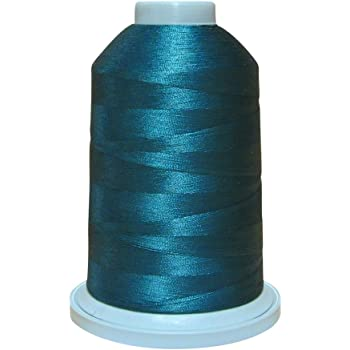 Glide Thread Trilobal Polyester No 40-5000 Meter Spool 1CG11 Lead Grey