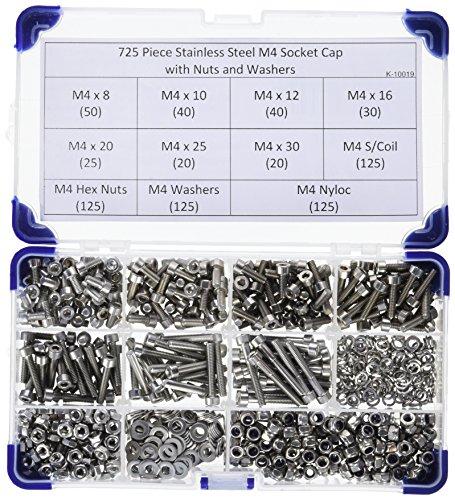 Pack de 25 A2 en acier inoxydable Pans Creux M6 x 16 mm Hex Head Boulon