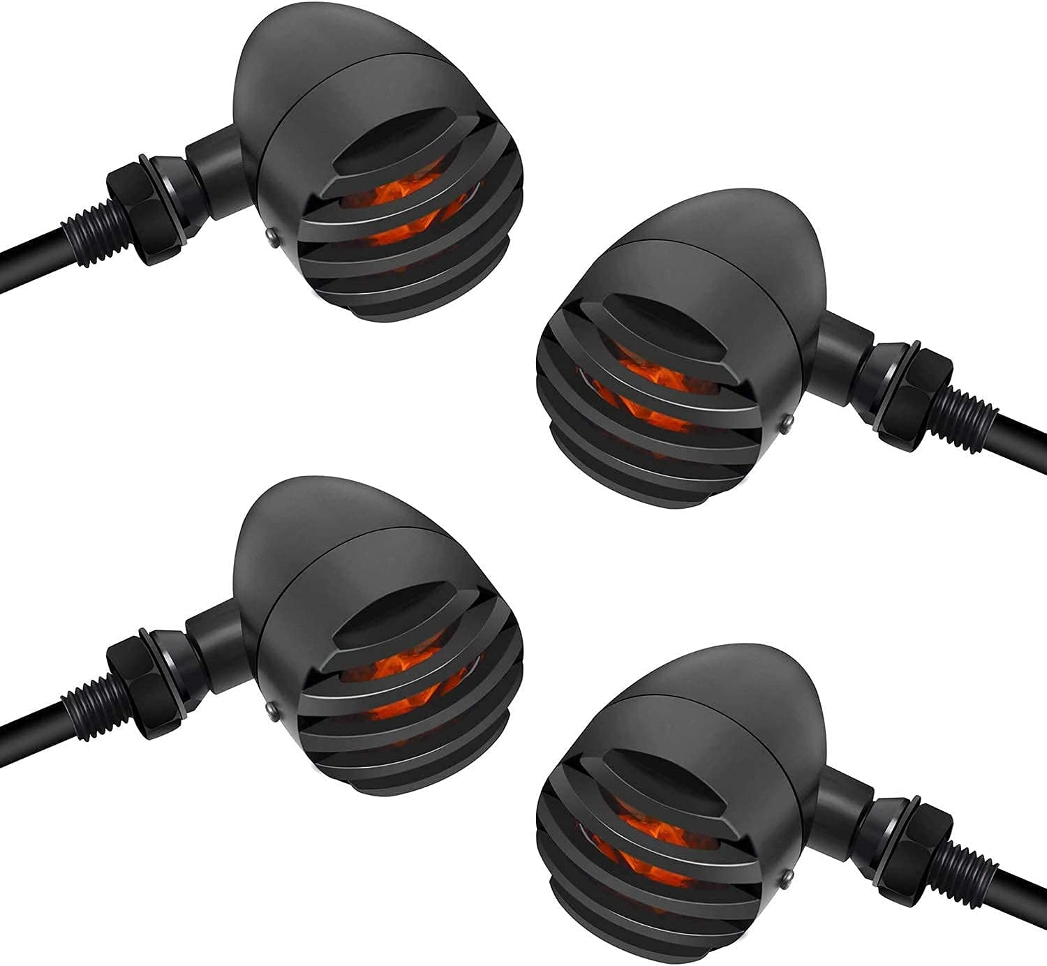 NTHREEAUTO Max 82% OFF Motorcycle Blinkers Surprise price Bullet Univers Signals LED Turn