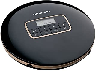 Grundig GCDP 8000 GDR1405 Tragbarer CD Player Schwarz